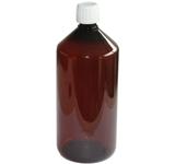 Bruine fles 1000 ml