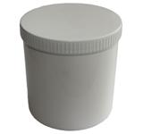 Crèmepot kunststof 120 gr.